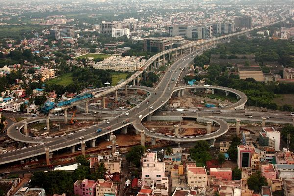 Guindy Flyover, Madras 374 - The Hindu Shutterbug