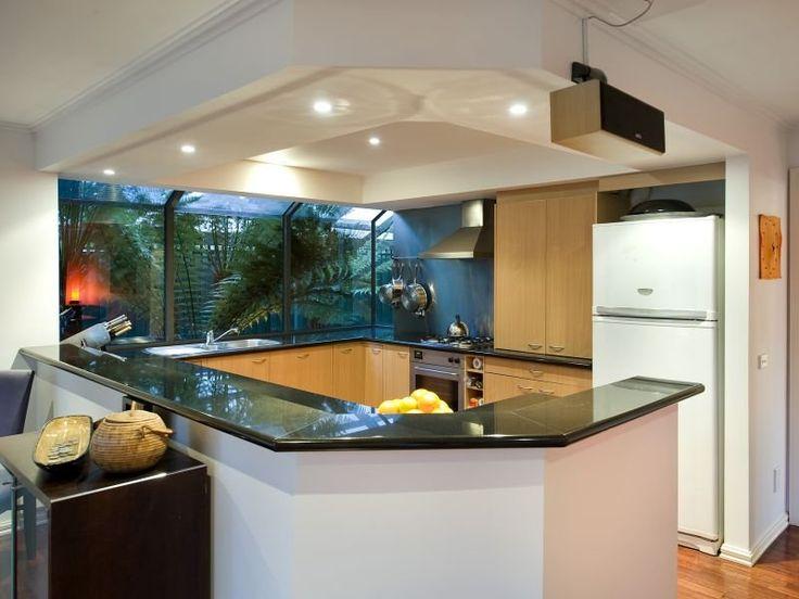 Best 25 modern kitchens with islands ideas on pinterest for Modern u shaped kitchen designs