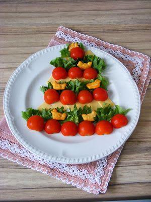 Makacska konyhája: Karácsonyfa saláta