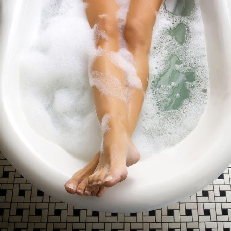 Fett verbrennen in der Badewanne: So funktioniert es!