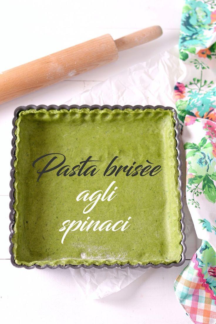 Sprinkles Dress: Ricette base - Pasta brisèe agli spinaci