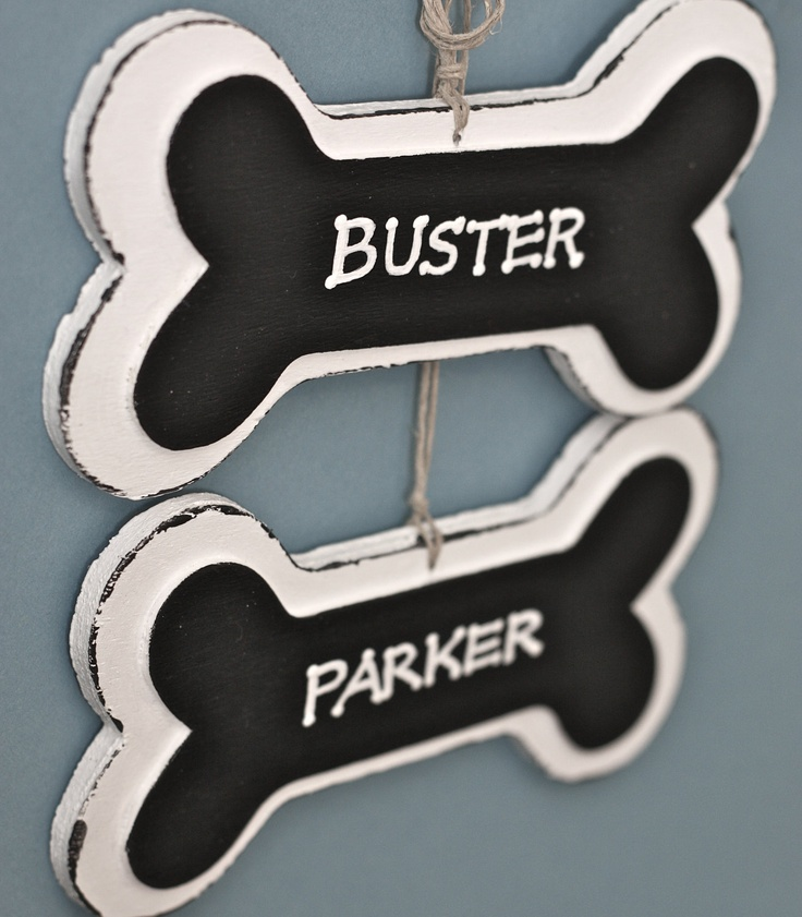 Personalized Dog Bone Ornaments by house129 on Etsy, $6.50