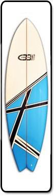 Fish Surf Board