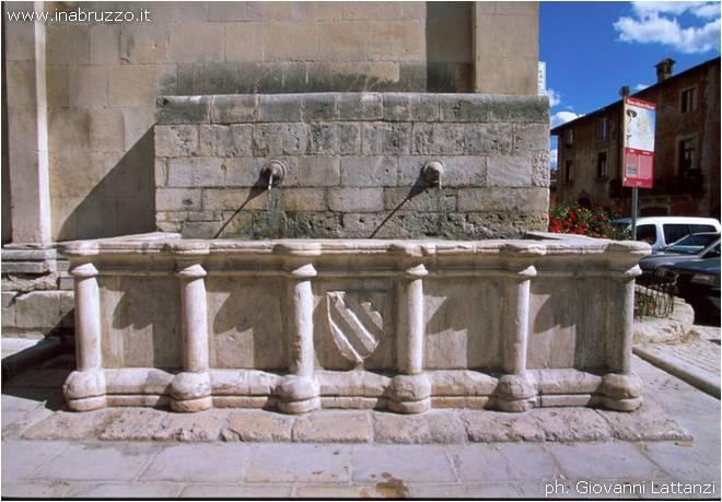 Fontana della chiesa di Santa Giusta di Bazzano