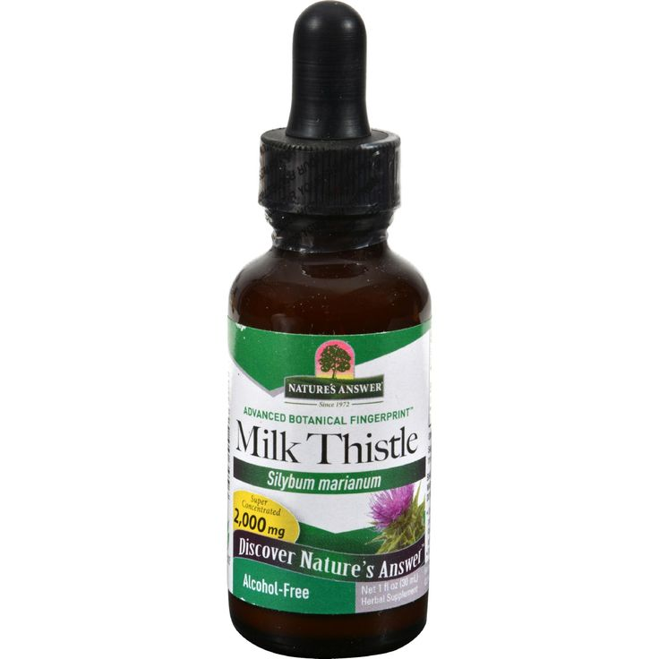 Natures Answer Milk Thistle Seed Alcohol Free - 1 fl oz - Natures Answer Milk Thistle Seed Alcohol Free Description:    Alcohol-Free Fluid Extract (1:1)  Silybum marianum  Promotes Healthy Liver Function  Holistically Balanced Natures Answer alcohol-free extracts are produced using alcohol water and natural extractants. All alcohol and extractants are then removed through our cold Bio-Chelated proprietary extraction process yielding a Holistically Balanced standardized extract. Liquid…