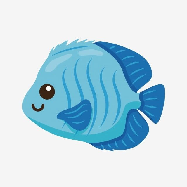 Blue Pretty Goldfish Ornamental Fish Fish Clipart Through Cartoon Fish Png And Vector With Transparent Background For Free Download Cartoon Fish Cartoon Goldfish Goldfish