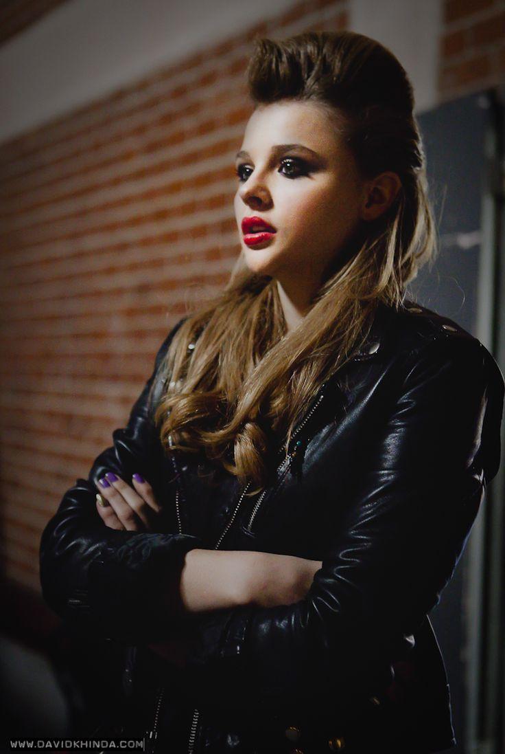 Chloe Moretz. That's some fantastic lighting.