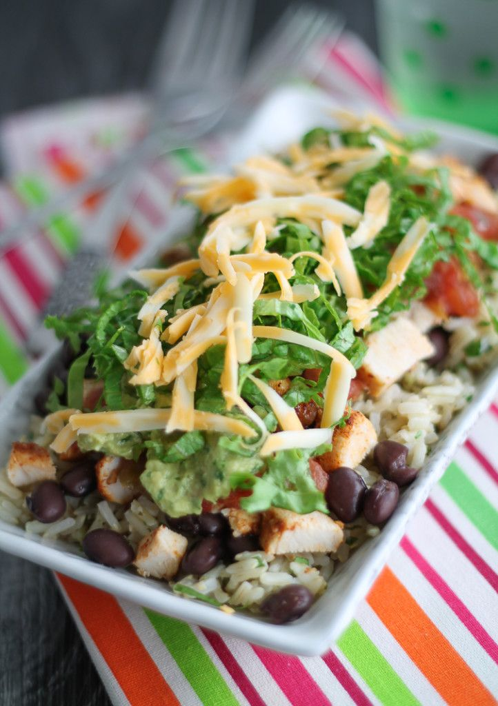 This Chicken Burrito Bowl is a healthy, homemade version of the popular Chipotle's dish. Light, crisp and bursting with fresh, natural flavour. OK, so after I share this ah-mazing Chili Lime Chicken Burrito Bowl, I swear I will put a cap in the Chipotle's knock-off meals for a while. I went on such a Mexican …