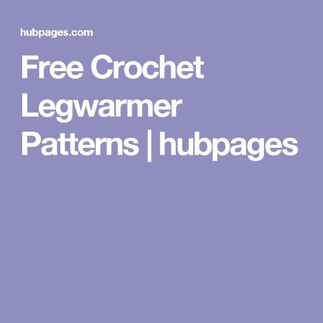 Free Crochet Legwarmer Patterns | hubpages