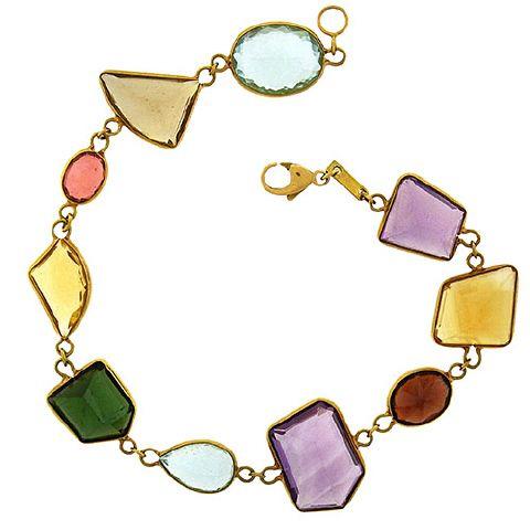BRC02606 Gem Set Bracelet