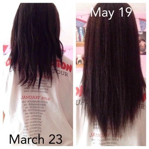biotin results for hair