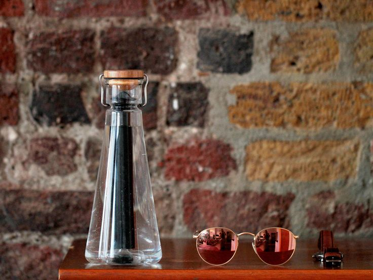 BU Water bottle has a sustainable, natural filter for clean water on the go