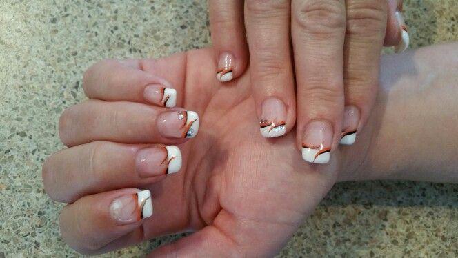 Elegant simple gel nails