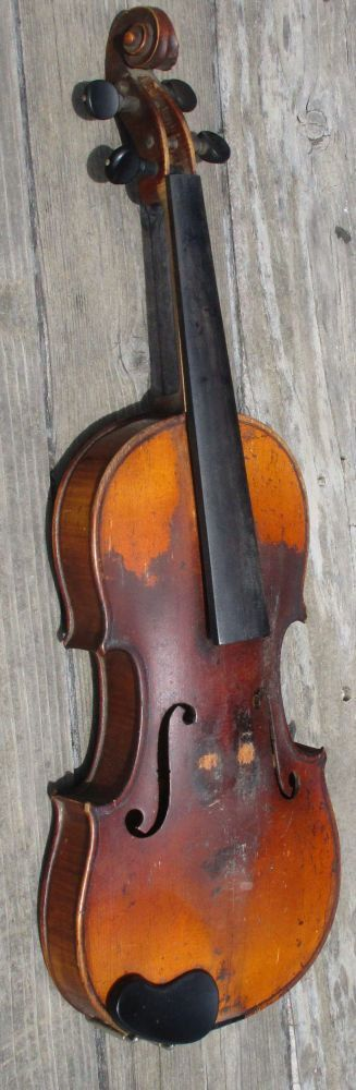 Vintage HOPF Violin 4/4 For Repair Restoration or Parts #Kopf