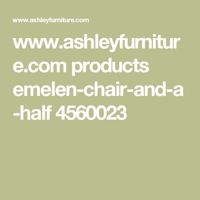 www.ashleyfurniture.com products emelen-chair-and-a-half 4560023