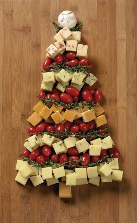 sapin gourmand et pas cher pour la decoration de la table de noel http