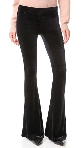 BLANK DENIM Velvet Flare Jeans. #blankdenim #cloth #dress #top #shirt #sweater #skirt #beachwear #activewear