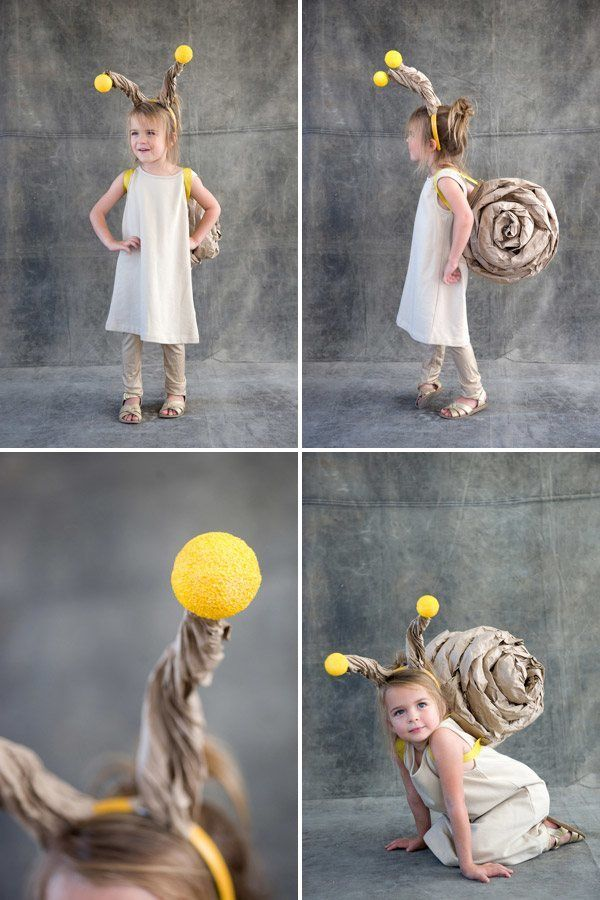 easy snail costume