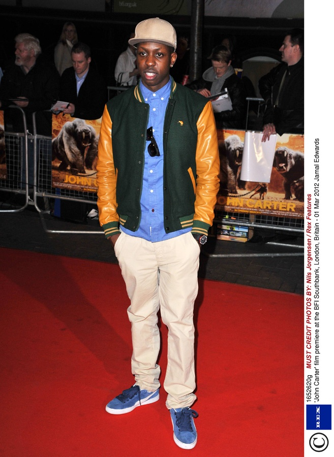 Jamal Edwards wears PUMA suedes on the red carpet #PUMA # ...