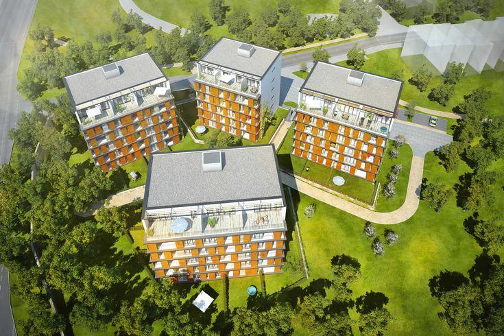 Prodej bytů vPraze 4 na Chodově | Rezidence Letokruhy
