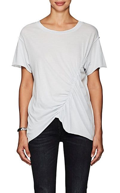 We Adore: The Samara Ruched Cotton T-Shirt from NSF at Barneys New York