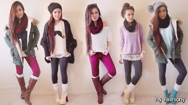 Cute Winter Outfits Tumblr 2015-2016 | MyFashiony
