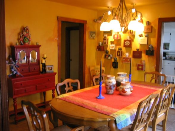 1000 images about mexican decor on pinterest spanish for Mexican dining room ideas