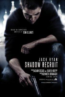 Shadow Recruit ... Jack Ryan, as a young covert CIA analyst, uncovers a Russian plot to crash the U.S. economy with a terrorist attack. Releases 1/17/2014