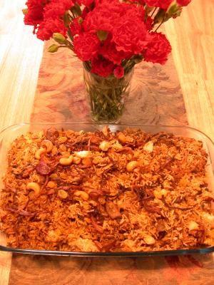 Chicken Biriyani @Laura Busch I'm making this next year