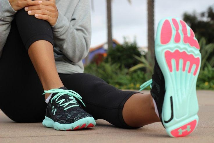 sneakers-femme-homme-Leggings-speedform-filet-noir-vert-menthe