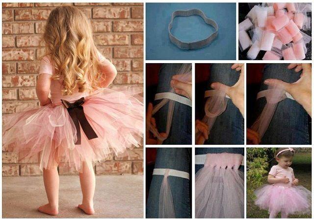 Φτιάξτε πανεύκολα φούστα tutu χωρίς ραφές