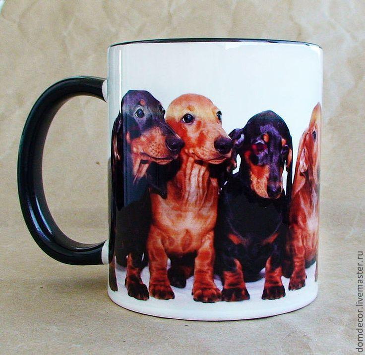 """Купить Чашка """"Лучше таксы - только такса!"""" - такса, собака, таксы, щенки, кружка, чашка, подарок"""
