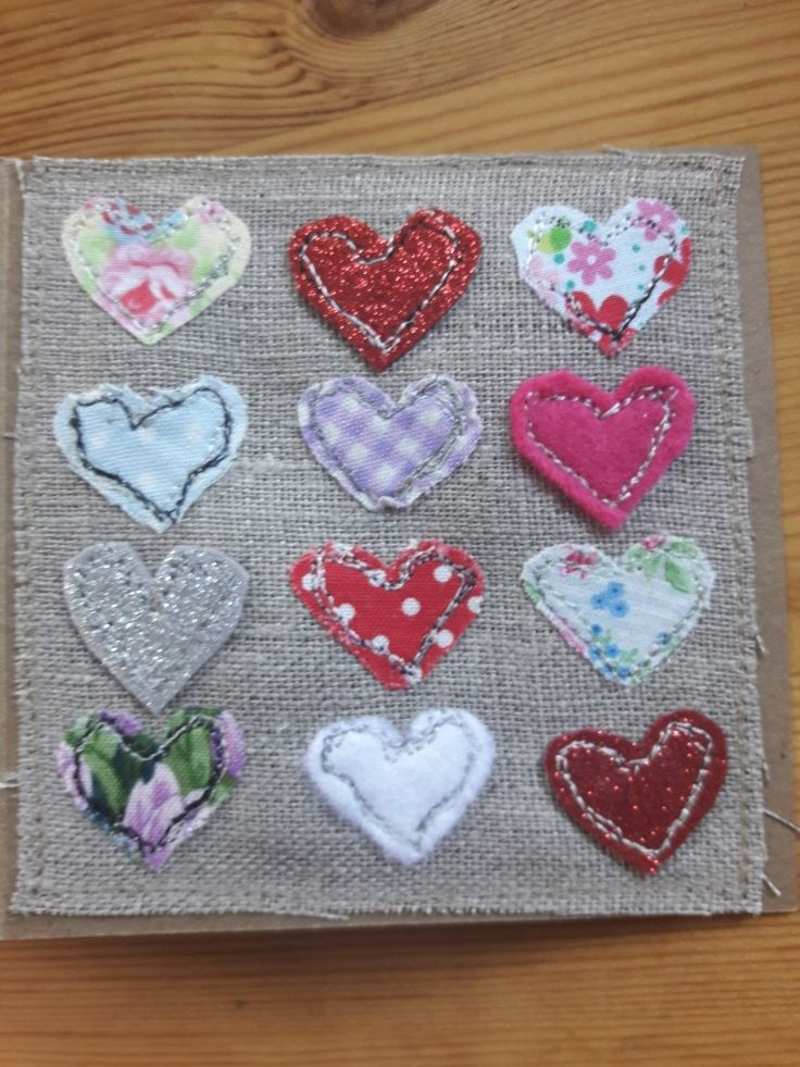 #Hearts greeting cardnow available on my website www.ioftheneedle.ie