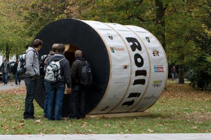 Uma casa experimental que gira como uma roda (3)