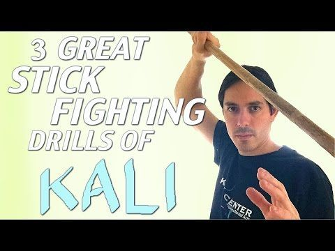 Amazing Beginner KALI STICK Fighting Drills for 2016 - Filipino Martial Arts - YouTube
