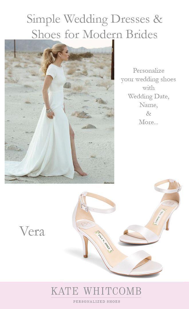 Simple And Elegant Ivory Wedding Sandals Wedding Shoes Ivory