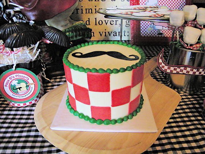 Papa G's Pizzeria: Moustaches & Mozzarella - Project Nursery