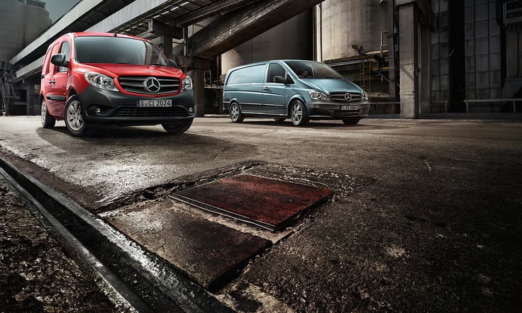 The vans' exemplary safety is combined with the intensive search for precisely the right overall solution consisting of the product and the services.