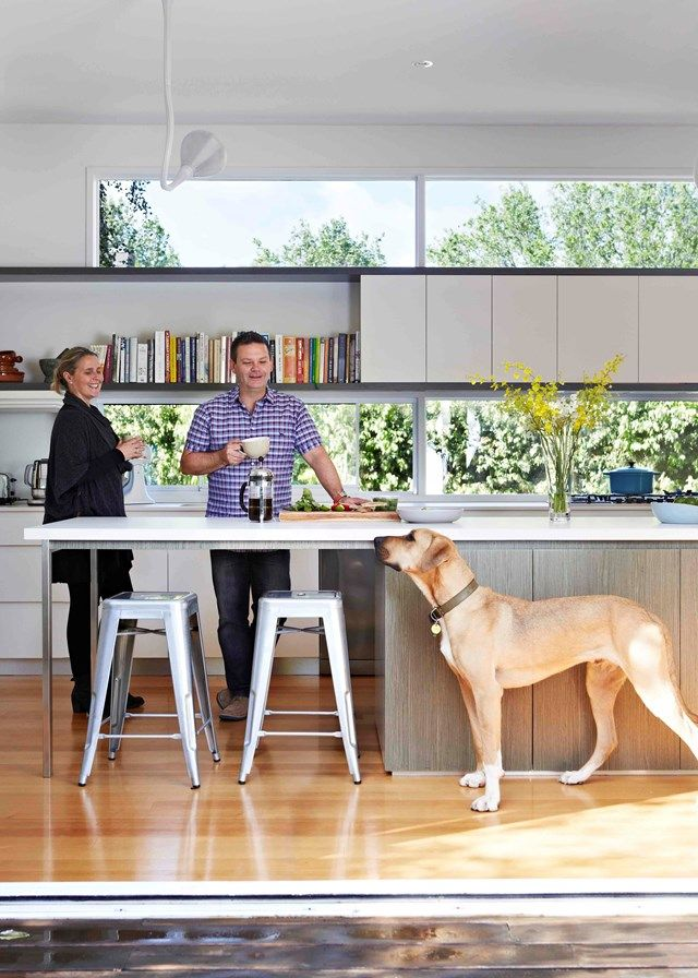 Gary & Mandy Mehigan with Jango | Home Beautiful Magazine Australia