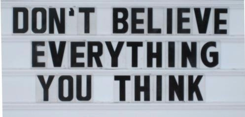Everything you think