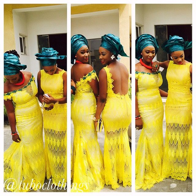 French Lace Aso Ebi Styles2