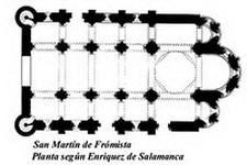 SAN MARTÍN DE FRÓMISTA (Palencia): estilo románico.