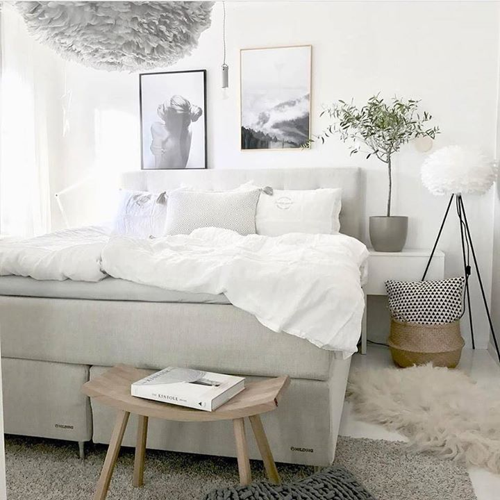 Subtle cool toned bedroom. Decorate it with white duvets & pillows pin legged lampshade a wooden foot table and some furry rugs. Picture via @mz.interior #decor #bedroomgoals #bedroomdecor #bedroom #inspiring #instastyle #instagood #inspo #manly #melbourne #sydney #stylegram #duvet #pillows #rug #woodentable #lampshade #cool #tone #cooltones #decor #design #tflers #tagsforlikes #followforfollow #decor8or_online #shoponline #buyonline http://ift.tt/2nKKT1f