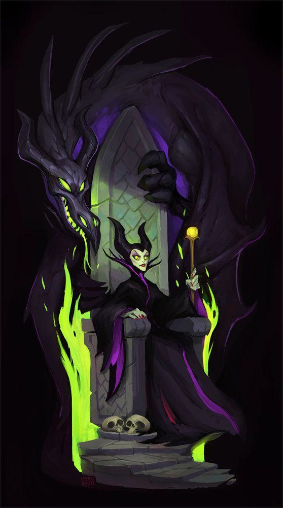 Disney Villains n°6 - Maleficent - 1959 - Sleeping Beauty (La Belle au bois dormant)