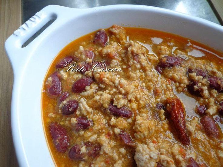Chili com Carne | por Prato Caseiro | feito com o nosso piri-piri desidratado