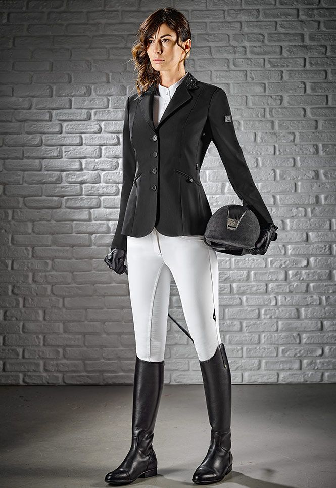 In gray please :D Competition jacket Equiline x-cool evo m00870 gioia