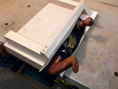 Blue Spruce Woodshop How I Made My Miter Shooting Board Pt 2