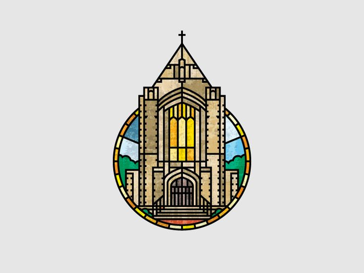 Independent Presbyterian Church Logo by Nate Perry