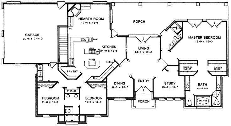 The 59 best floor plans and blueprints images on pinterest blueprints google search malvernweather Choice Image