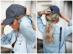 The Best Hairstyles to Wear with a Baseball Cap